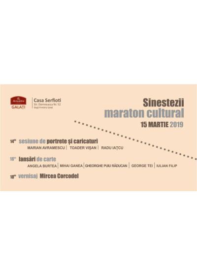 Sinestezii. Maraton cultural