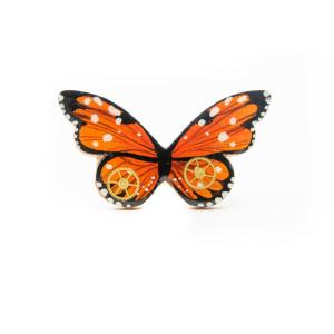 Broșă LEMN Butterfly