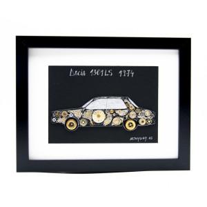 Tablou Dacia 1301LS 1974 - Colecția ART my Cars