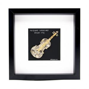 Tablou Messiah Stradivari 1716 - Vioară Colecția SteamWall