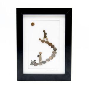 Tablou Keep Walking - Colecția Pebble Art - 0015
