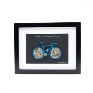 Tablou Bicicletă Albastră - Colecția SteamWall