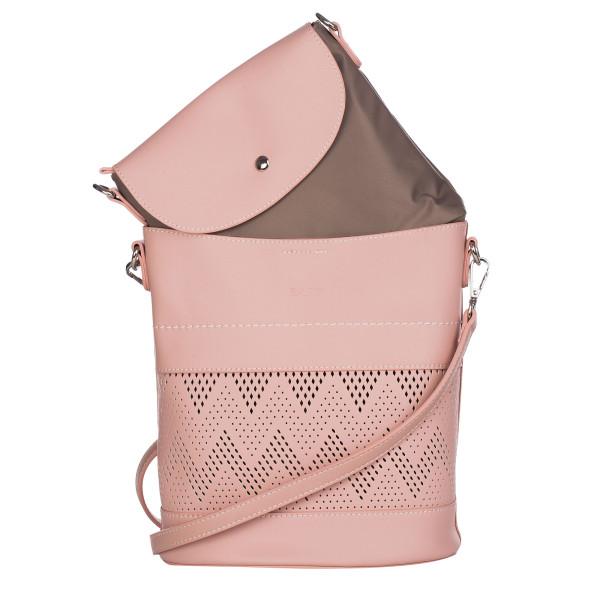 Geantă damă Katia roz 25X22X13 cm