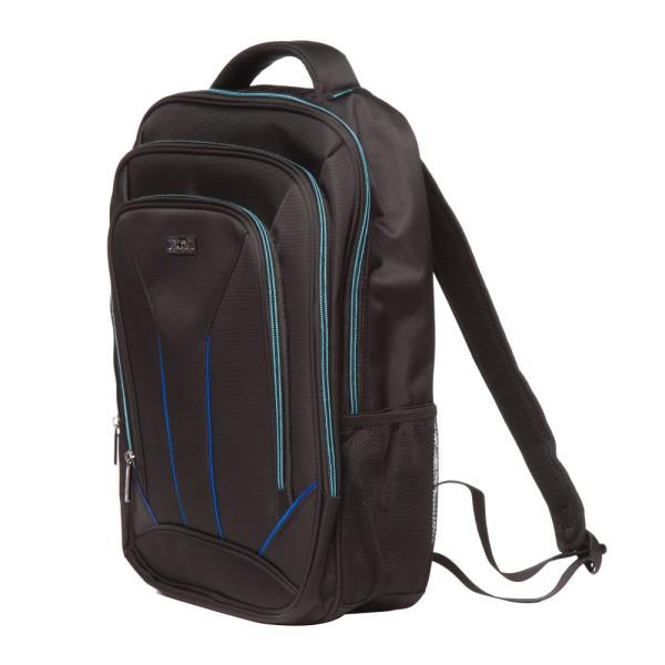 Rucsac Laptop Toledo Negru cu Albastru