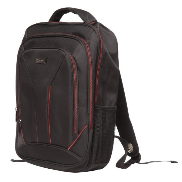 Rucsac Laptop Toledo Negru cu Roșu