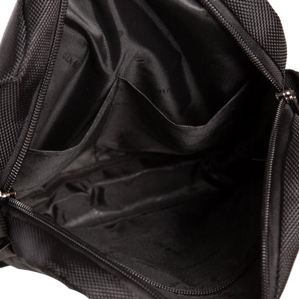 Geantă de umăr Lyon Negru