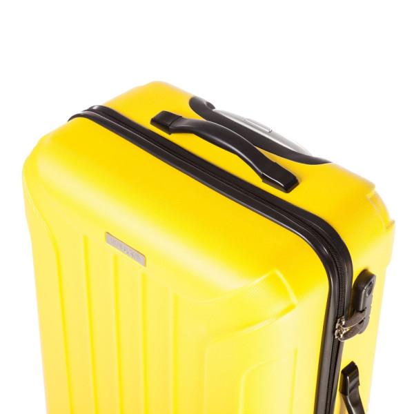 Troler Capri 67x44x25 cm, 3.1 cm, galben