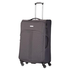 Troler Allure 77x46x30 cm, 3.15 kg, expandabil 30%, gri