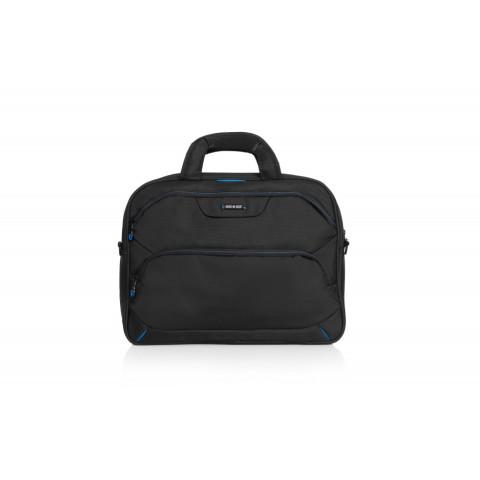 Geantă de laptop Modena Negru cu albastru