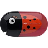 Ascuțitoare Cu Radieră Buburuză Faber-Castell