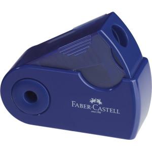 Ascuțitoare Plastic Simplă Sleeve-Mini Roșu/Albastru