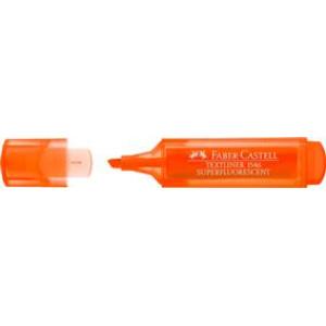 Textmarker portocaliu superfluorescent 1546 Faber-Castell