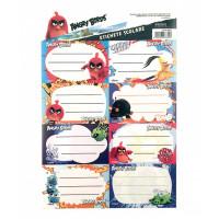 Etichete școlare 40/set Angry Birds