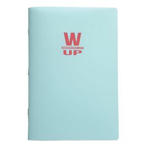 Caiet WUP PP A4 60f mate 300 mic 70gr albastru pastel