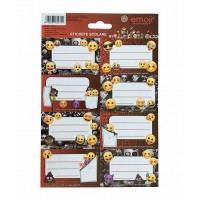 Etichete școlare 40/set Emoji Clasic