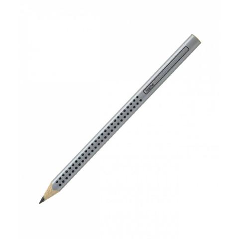 Creion grafit HB fără gumă Jumbo Grip Faber-Castell