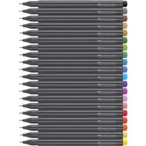 Liner 0.4mm Grip Faber-Castell, albastru-violet