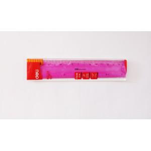 Riglă Flexibilă Color Deli 15cm