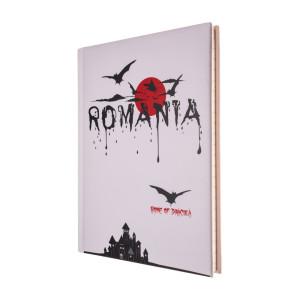 Agendă nedatată Dracula - România, foi dictando