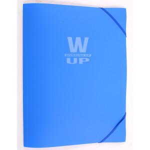 Mapă plastic cu elastic Working-Up 600mic albastru