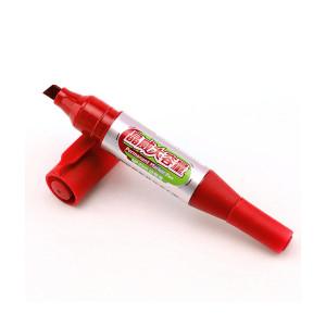 Marker Permanent Baoke Jumbo 2 capete roșu
