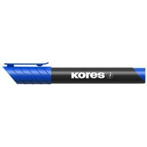 Marker permanent vârf rotund albastru 3mm Kores