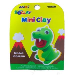 Plastilină Amos Dinozaur 30G