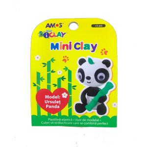 Plastilină Amos Ursuleț Panda 30G