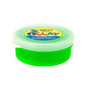 Plastilină Verde Neon 18G Amos