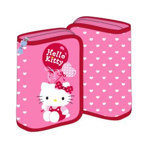 Penar 2 extensii roz Hello Kitty