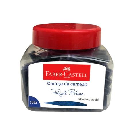 Cartușe Cerneală Mici Albastru 100 buc/borcan