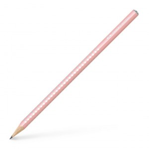 Creion Grafit B Sparkle Rose