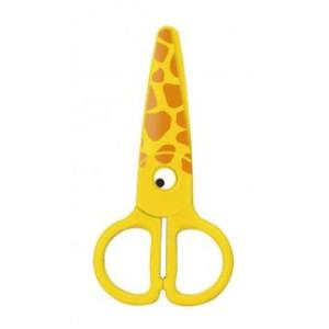 Foarfecă plastic preșcolari KEYROAD KR971402 Kids Pro, Girafă