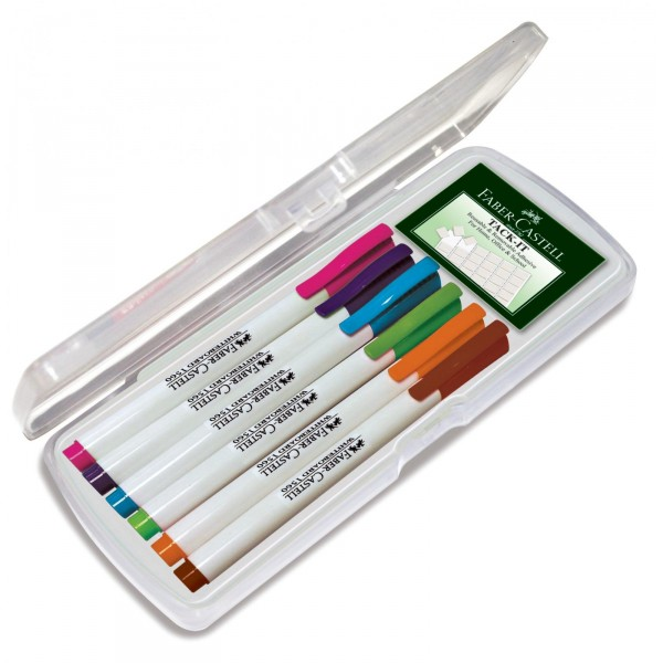 Set 6 culori pastel Marker Whiteboard Slim 1560