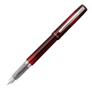 Stilou Platinum Prefounte Crimson Red penița F
