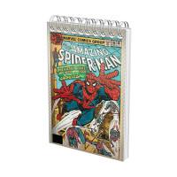 Blocnotes cu Spiră A6 70 File Matematică 80g Spiderman