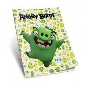 Caiet A5 Angry Birds 52 File Linii