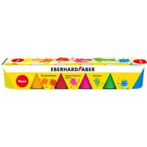 Guase 6 culori 25ml Neon Eberhard Faber