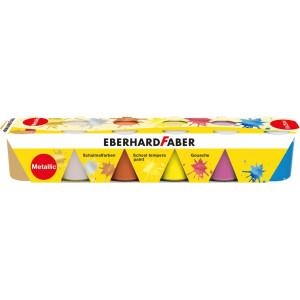 Guase 6 culori 25ml metalizate Eberhard Faber