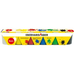 Guase 6 culori 25ml standard Eberhard Faber