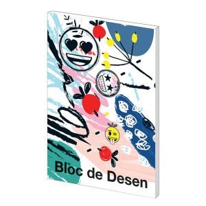 Bloc desen A4 160g 16 File Emoji Clasic
