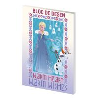 Bloc desen A4 160g 16 File Frozen