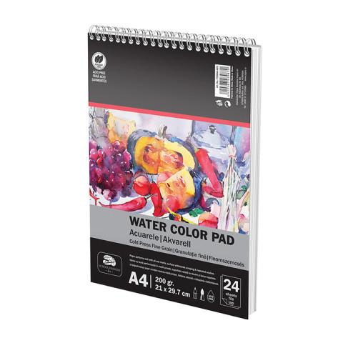Bloc Desen SF ART Spira A4 200g 24file Acuarele