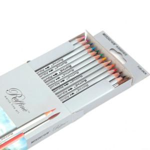 Creioane 36 culori acuarele cu pensulă Marco 7120