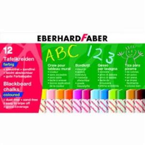 Cretă color 12/cut Eberhard Faber