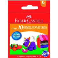 Plastilină 10 Culori 90G Faber-Castell