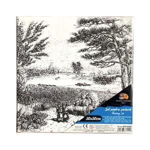 Pânză SF ART pre printată șasiu lemn 16x25cm, 30x30cm Peisaj 3