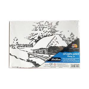 Pânză SF ART pre printată șasiu lemn 16x25cm, 20x30cm Peisaj 2