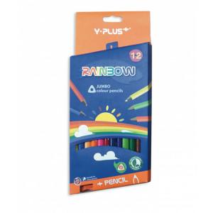 Creioane Color 12/set YP JUMBO - groase
