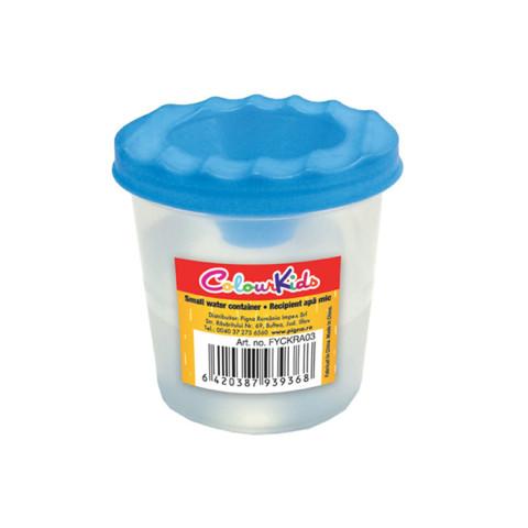 Recipient apă Colour KIDS mic pentru desen